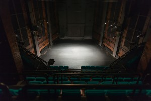 empty theater stage